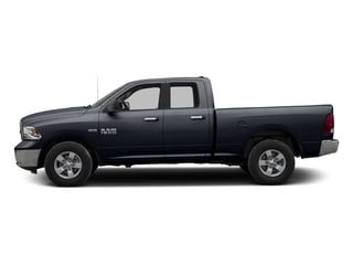 Midnight Blue Pearlcoat 2017 Ram Truck 1500 Pictures 1500 Quad Cab SLT 2WD photos side view