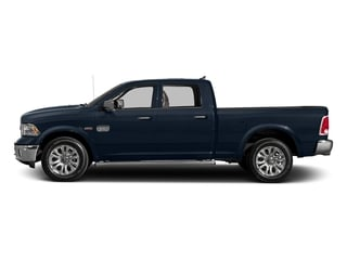 True Blue Pearlcoat 2017 Ram Truck 1500 Pictures 1500 Longhorn 4x4 Crew Cab 6'4 Box photos side view