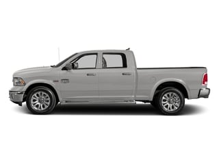 Bright Silver Metallic Clearcoat 2017 Ram Truck 1500 Pictures 1500 Longhorn 4x4 Crew Cab 6'4 Box photos side view