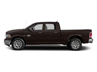 Luxury Brown Pearlcoat 2017 Ram Truck 1500 Pictures 1500 Longhorn 4x4 Crew Cab 6'4 Box photos side view