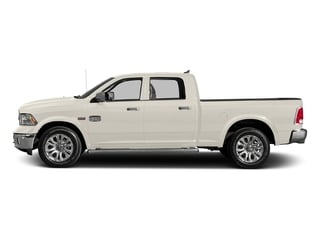 Pearl White 2017 Ram Truck 1500 Pictures 1500 Longhorn 4x4 Crew Cab 6'4 Box photos side view