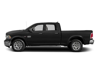 Brilliant Black Crystal Pearlcoat 2017 Ram Truck 1500 Pictures 1500 Longhorn 4x4 Crew Cab 6'4 Box photos side view