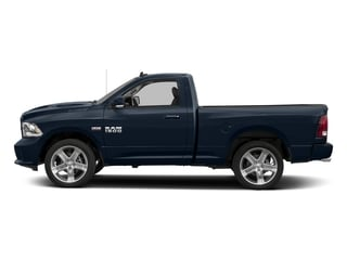 True Blue Pearlcoat 2017 Ram Truck 1500 Pictures 1500 Night 4x4 Regular Cab 6'4 Box photos side view