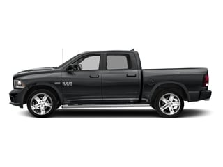 Granite Crystal Metallic Clearcoat 2017 Ram Truck 1500 Pictures 1500 Night 4x2 Crew Cab 5'7 Box photos side view