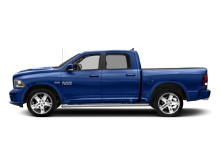 Blue Streak Pearlcoat 2017 Ram Truck 1500 Pictures 1500 Night 4x4 Crew Cab 5'7 Box photos side view