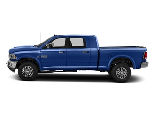 Blue Streak Pearlcoat 2017 Ram Truck 2500 Pictures 2500 Mega Cab Laramie 4WD photos side view