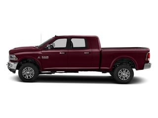 Delmonico Red Pearlcoat 2017 Ram Truck 2500 Pictures 2500 Mega Cab Laramie 4WD photos side view