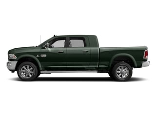 Black Forest Green Pearlcoat 2017 Ram Truck 2500 Pictures 2500 Mega Cab Longhorn 4WD photos side view