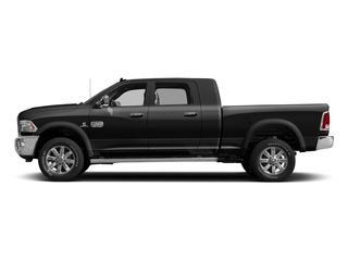 Brilliant Black Crystal Pearlcoat 2017 Ram Truck 2500 Pictures 2500 Mega Cab Limited 4WD photos side view