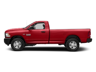 Bright Red 2017 Ram Truck 2500 Pictures 2500 Regular Cab SLT 2WD photos side view