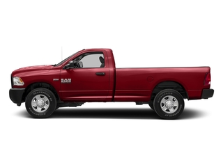 Flame Red Clearcoat 2017 Ram Truck 2500 Pictures 2500 SLT 4x4 Reg Cab 8' Box photos side view