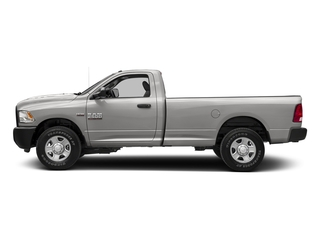 Bright Silver Metallic Clearcoat 2017 Ram Truck 2500 Pictures 2500 Regular Cab SLT 2WD photos side view