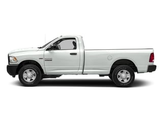 Bright White Clearcoat 2017 Ram Truck 2500 Pictures 2500 SLT 4x4 Reg Cab 8' Box photos side view