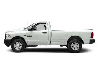 Bright White Clearcoat 2017 Ram Truck 2500 Pictures 2500 Regular Cab SLT 2WD photos side view