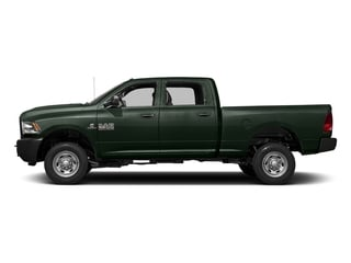 Black Forest Green Pearlcoat 2017 Ram Truck 2500 Pictures 2500 Crew Cab Tradesman 2WD photos side view
