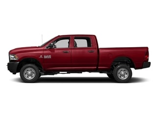 Flame Red Clearcoat 2017 Ram Truck 2500 Pictures 2500 Crew Power Wagon Tradesman 4WD photos side view