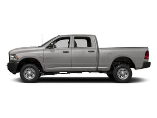 Bright Silver Metallic Clearcoat 2017 Ram Truck 2500 Pictures 2500 Crew Power Wagon Tradesman 4WD photos side view