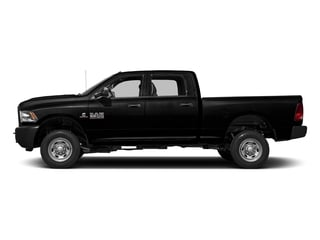 Black Clearcoat 2017 Ram Truck 2500 Pictures 2500 Crew Power Wagon Tradesman 4WD photos side view