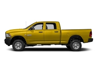 Detonator Yellow Clearcoat 2017 Ram Truck 2500 Pictures 2500 Crew Cab Tradesman 2WD photos side view