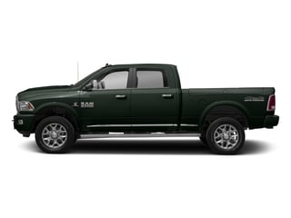 Black Forest Green Pearlcoat 2017 Ram Truck 2500 Pictures 2500 Laramie Longhorn 4x2 Crew Cab 8' Box photos side view