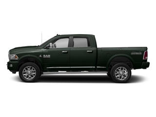 Black Forest Green Pearlcoat 2017 Ram Truck 2500 Pictures 2500 Longhorn 4x4 Crew Cab 8' Box photos side view