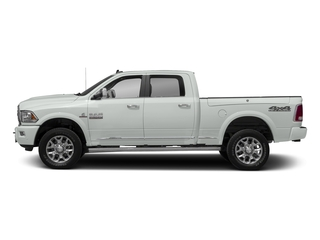 Bright White Clearcoat 2017 Ram Truck 2500 Pictures 2500 Longhorn 4x4 Crew Cab 6'4 Box photos side view