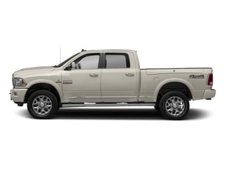 Pearl White 2017 Ram Truck 2500 Pictures 2500 Laramie Longhorn 4x2 Crew Cab 8' Box photos side view