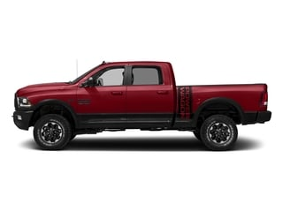 Flame Red Clearcoat 2017 Ram Truck 2500 Pictures 2500 Power Wagon 4x4 Crew Cab 6'4 Box photos side view