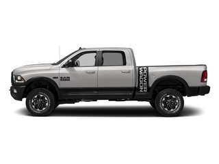 Bright Silver Metallic Clearcoat 2017 Ram Truck 2500 Pictures 2500 Power Wagon 4x4 Crew Cab 6'4 Box photos side view