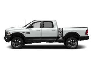 Bright White Clearcoat 2017 Ram Truck 2500 Pictures 2500 Power Wagon 4x4 Crew Cab 6'4 Box photos side view