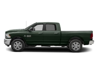 Black Forest Green Pearlcoat 2017 Ram Truck 2500 Pictures 2500 Crew Cab SLT 2WD photos side view