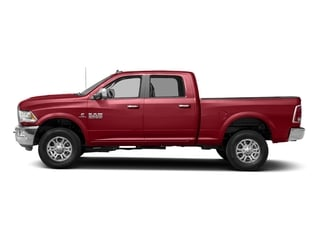 Flame Red Clearcoat 2017 Ram Truck 2500 Pictures 2500 Laramie 4x2 Crew Cab 8' Box photos side view