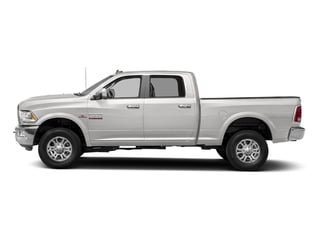 Bright Silver Metallic Clearcoat 2017 Ram Truck 2500 Pictures 2500 Laramie 4x2 Crew Cab 8' Box photos side view