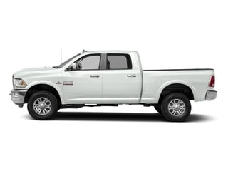 Bright White Clearcoat 2017 Ram Truck 2500 Pictures 2500 Laramie 4x2 Crew Cab 8' Box photos side view