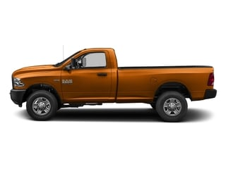 Omaha Orange 2017 Ram Truck 3500 Pictures 3500 SLT 4x4 Reg Cab 8' Box photos side view