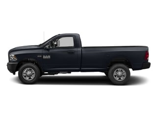 Midnight Blue Pearlcoat 2017 Ram Truck 3500 Pictures 3500 SLT 4x4 Reg Cab 8' Box photos side view
