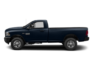 True Blue Pearlcoat 2017 Ram Truck 3500 Pictures 3500 Regular Cab SLT 4WD photos side view