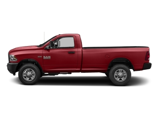 Flame Red Clearcoat 2017 Ram Truck 3500 Pictures 3500 Regular Cab SLT 4WD photos side view