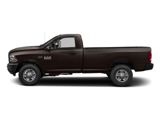Luxury Brown Pearlcoat 2017 Ram Truck 3500 Pictures 3500 Regular Cab SLT 4WD photos side view