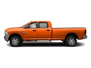 Omaha Orange 2017 Ram Truck 3500 Pictures 3500 Crew Cab SLT 2WD photos side view