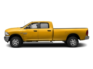 Construction Yellow 2017 Ram Truck 3500 Pictures 3500 Big Horn 4x2 Crew Cab 6'4 Box photos side view