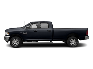 Midnight Blue Pearlcoat 2017 Ram Truck 3500 Pictures 3500 Crew Cab SLT 2WD photos side view