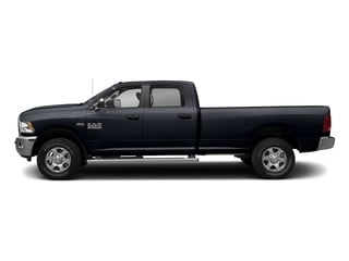 Midnight Blue Pearlcoat 2017 Ram Truck 3500 Pictures 3500 Big Horn 4x2 Crew Cab 6'4 Box photos side view