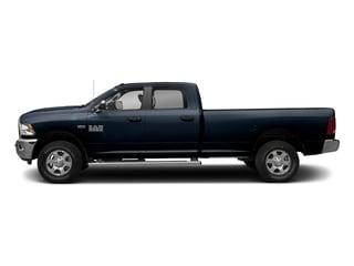 True Blue Pearlcoat 2017 Ram Truck 3500 Pictures 3500 Big Horn 4x2 Crew Cab 6'4 Box photos side view