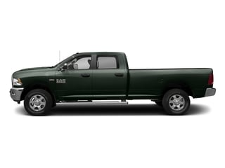 Black Forest Green Pearlcoat 2017 Ram Truck 3500 Pictures 3500 Crew Cab SLT 2WD photos side view