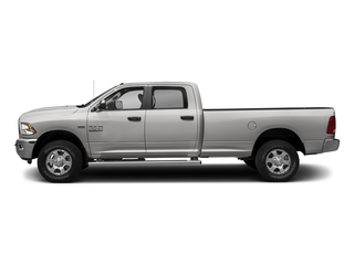 Bright Silver Metallic Clearcoat 2017 Ram Truck 3500 Pictures 3500 Crew Cab SLT 2WD photos side view
