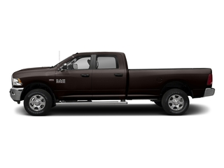 Luxury Brown Pearlcoat 2017 Ram Truck 3500 Pictures 3500 Big Horn 4x2 Crew Cab 6'4 Box photos side view