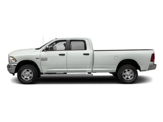 Bright White Clearcoat 2017 Ram Truck 3500 Pictures 3500 Crew Cab SLT 2WD photos side view