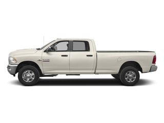 Pearl White 2017 Ram Truck 3500 Pictures 3500 Crew Cab Longhorn 4WD photos side view