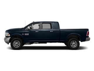 True Blue Pearlcoat 2017 Ram Truck 3500 Pictures 3500 Mega Cab Longhorn 4WD photos side view